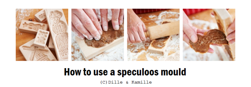 How to use a speculoos mould